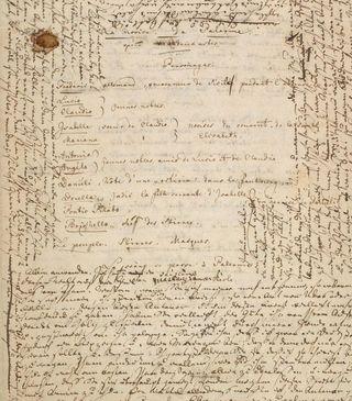 MVRW LIEBESVERBOT Manuscrit
