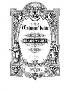 MVRW Tristan Isolde Partitur