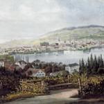 Une-Zuerich-vers-1850-depuis-Villa-Wesendonck 350 200