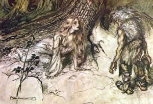 MVRW RACKAM Siegfried mort de Sieglinde