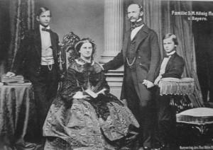 Maximilian_II_of_Bavaria_with_his_family-300x212