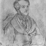Dessin par Ernst Benedikt KIETZ (effectué le 1er janvier 1842)