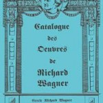 Catalogue Oeuvres musicales