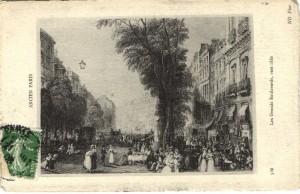 MVRW Les Grands Boulevards vers 1840