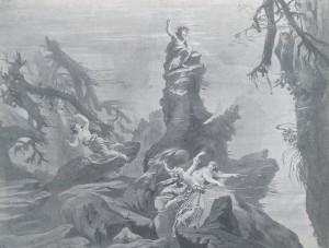 MVRW BAYREUTH 1876 DECORS L'OR DU RHIN scene 1