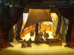 MVRW Herrenchiemsee maquette decor creation Tristan Acte 1