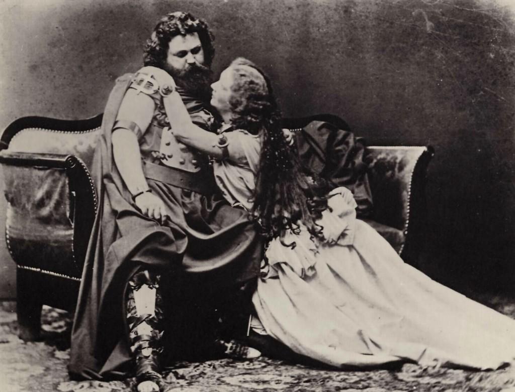 MVRW Joseph_Albert_-_Ludwig_und_Malwine_Schnorr_von_Carolsfeld_-_Tristan_und_Isolde,_1865f