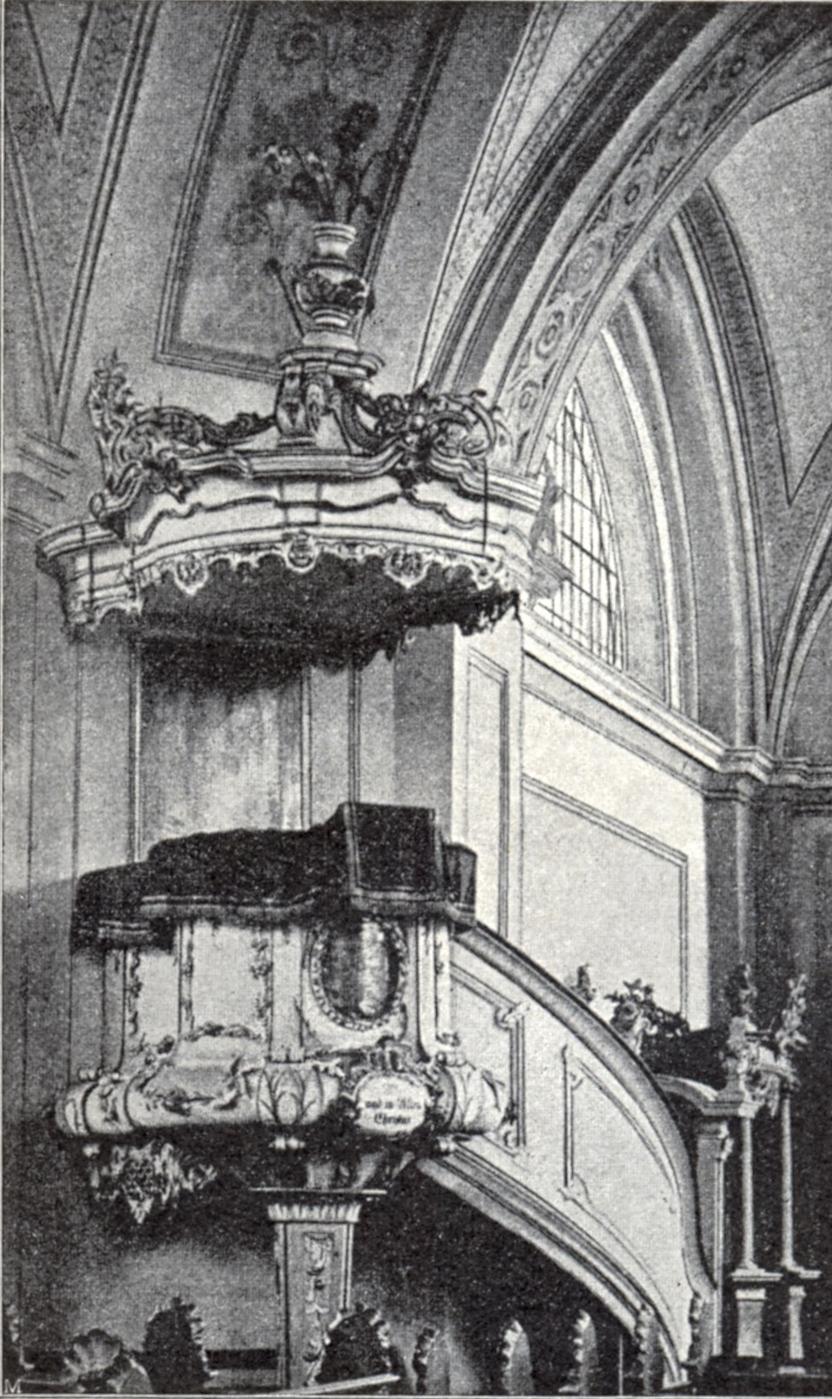 MVRW Koenigsberg Tragheimer Kirche Kanzel