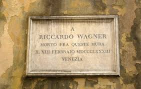 MVRW Plaque funeraire Richard Wagner au Palazzo Vendramin