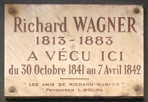 MVRW Plaque_Richard_Wagner,_14_rue_Jacob,_Paris_6