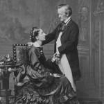 (avec Cosima) Photographie par Fritz LUCKHARDT (prise le 9 mai 1872)