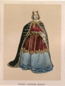 MVRW WAGNER JACHMANN Johanna dans le role d'Ortrud en 1860