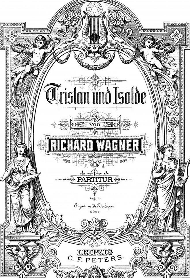 Partition Tristan et Isolde recadre