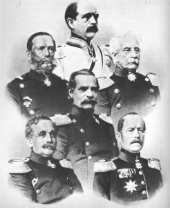Prussian_military_leaders_in_Sadowa