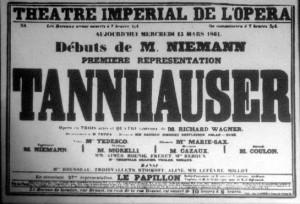 MVRW Tannhauser Poster PARIS 1861