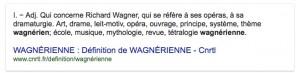 MVRW Le mot wagnérien