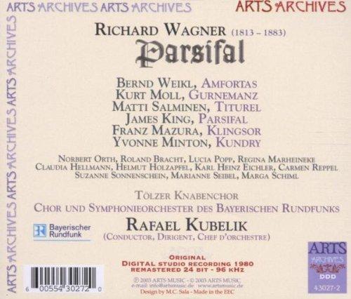 MVRW PARSIFAL Disco 1980 Kubelik