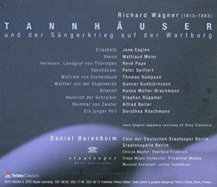MVRW TANNHAUSER Disco 2001