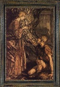 MVRW Siegmund et Sieglinde par Arthur Rackham