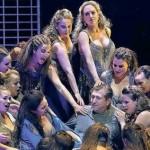 Andreas SCHAGER dans le rôle-titre de Parsifal (production du Festival de Bayreuth, mise en scène : Uwe Eric Laufenberg, août 2016)