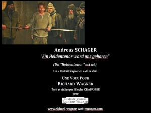 ANDREAS SCHAGER Affiche