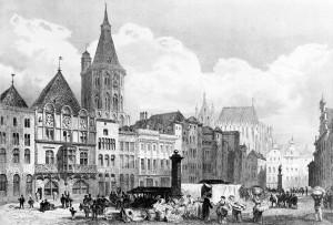 Alter_Markt_Köln_um_1850