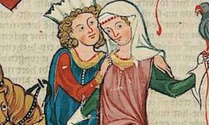 L'amour courtois ou le roman d'Heloïse et Abelard