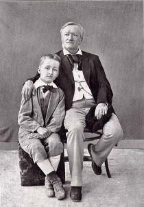MVRW WAGNER Richard et Siegfried Naples en 1880