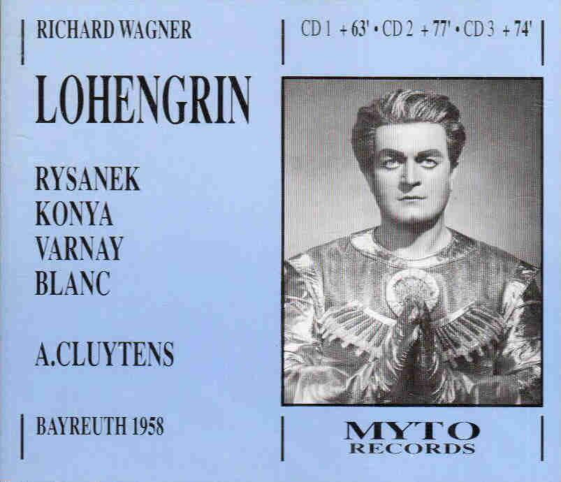 MVRW LOHENGRIN Disco 1958
