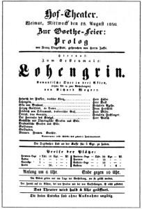 MVRW Lohengrin Weimar 1850