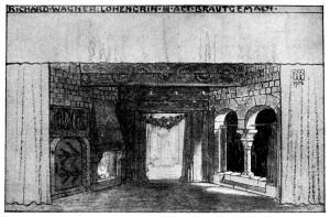 Alfred Roller - Lohengrin - Akt III - Wagner
